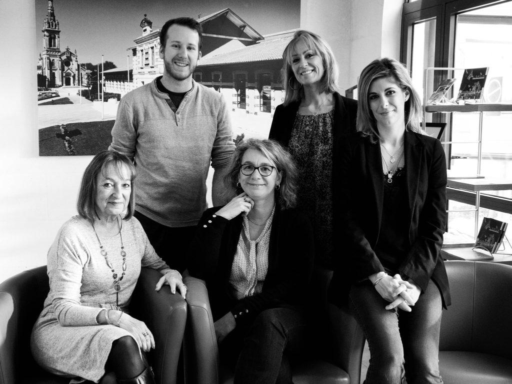Equipe de l'Office de tourisme du Teich