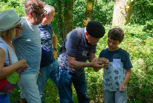 découverte nature - balade jean le raconteur de pays